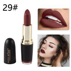 MISS ROSE Black Bullet Protracted Waterproof Fog Matt Lipstick Makeup -