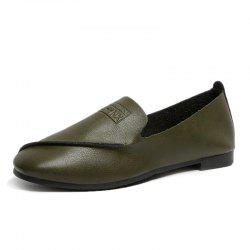 New Womens Round Head Low heel Middle Singles -