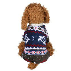 Winter Love English Dog Vêtements - Cadetblue S