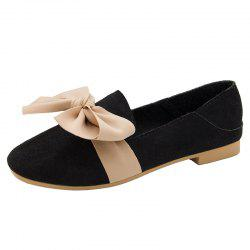 New Butterflyknotted Fur Single Shoes -