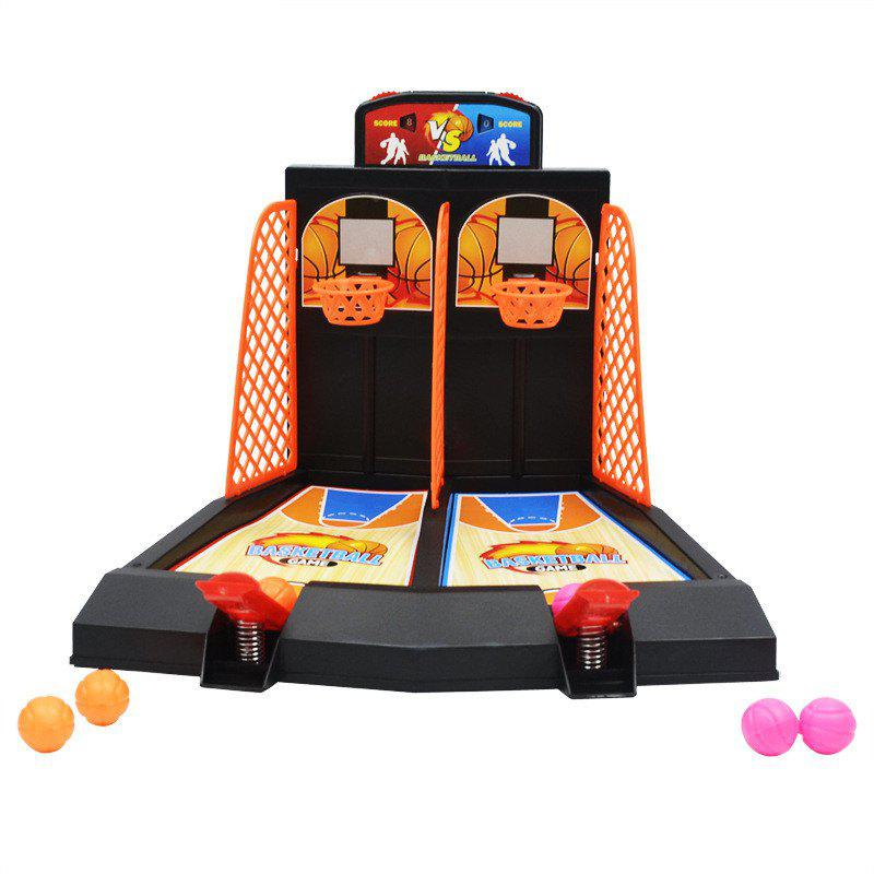 Outfits Double Finger Ejection Basketball Console Interactive Desktop Game Toy