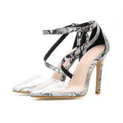 Women'S High Heels Club Large Size Buckle Sandals -