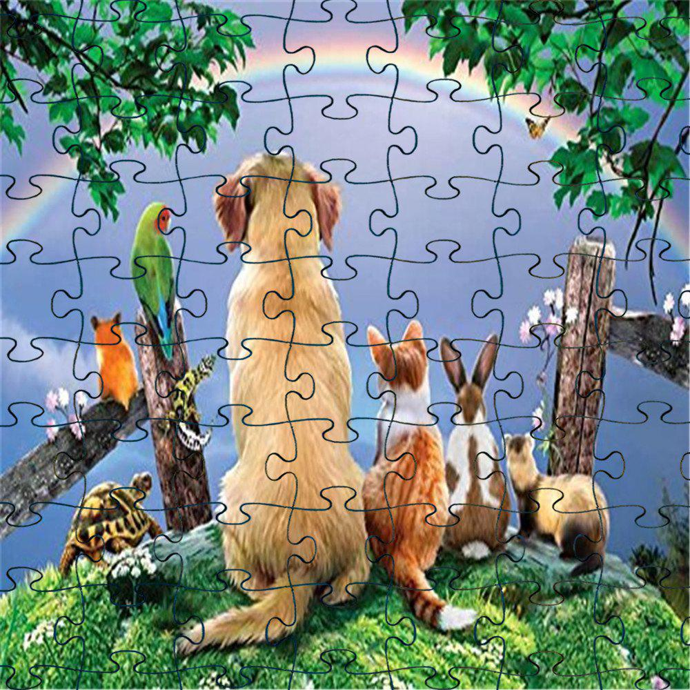 Sale 3D Cool Jigsaw Paper Puzzle Block Assembly Birthday Toy
