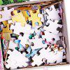 3D Jigsaw Old Man Paper Puzzle Block Assembly Birthday Toy -