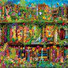3D Jigsaw Paper Fairy Tale Puzzle Block Assembly Birthday Toy -