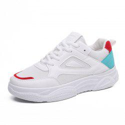 Four Seasons Mesh Breathable Coloured Womens Leisure Shoes -