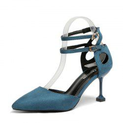 Womens Single Shoes with Pointed Leisure Stilettos and High Heels -