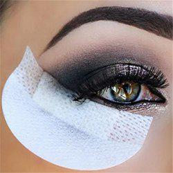10PCS Anti Dizzy Eye Stickers Eyeliner False Eyelash Makeup Tools -