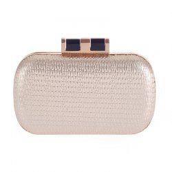 Lady'S Style prendra votre dîner tardif Outfit Bag Contracted Fashion Bags - Or