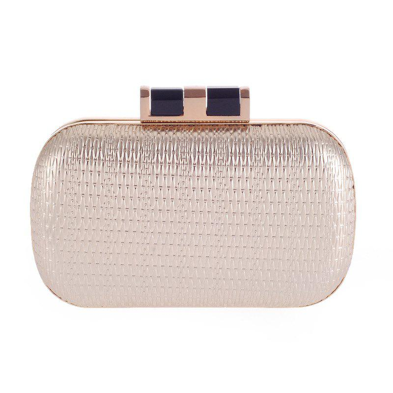 Lady'S Style prendra votre dîner tardif Outfit Bag Contracted Fashion Bags Or