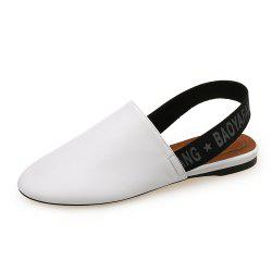 Round Head Simple Flat Shoes -