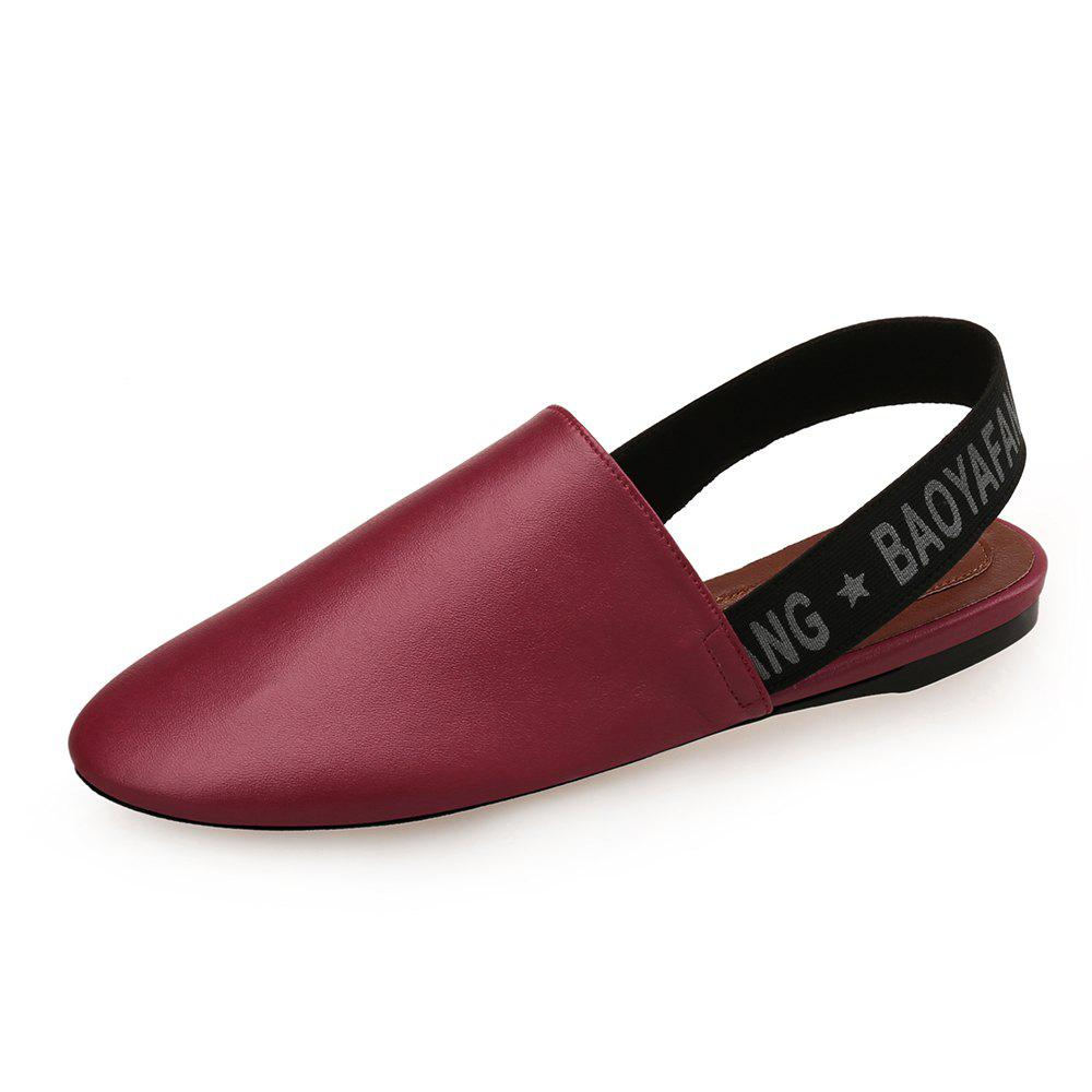 Latest Round Head Simple Flat Shoes