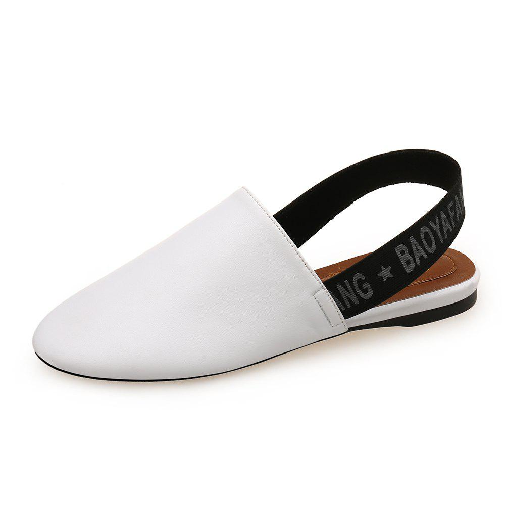Fashion Round Head Simple Flat Shoes