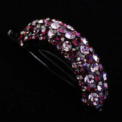 Simple Full-Water Drill Tray Hairpin Torsional Clip Large Horse-Tail Clip Girl'S -