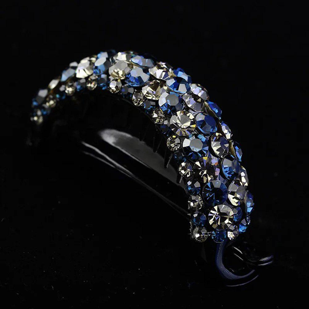 Buy Simple Full-Water Drill Tray Hairpin Torsional Clip Large Horse-Tail Clip Girl'S