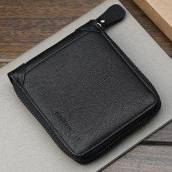 Short Men'S Cross Money Wallet Wallet Purse -