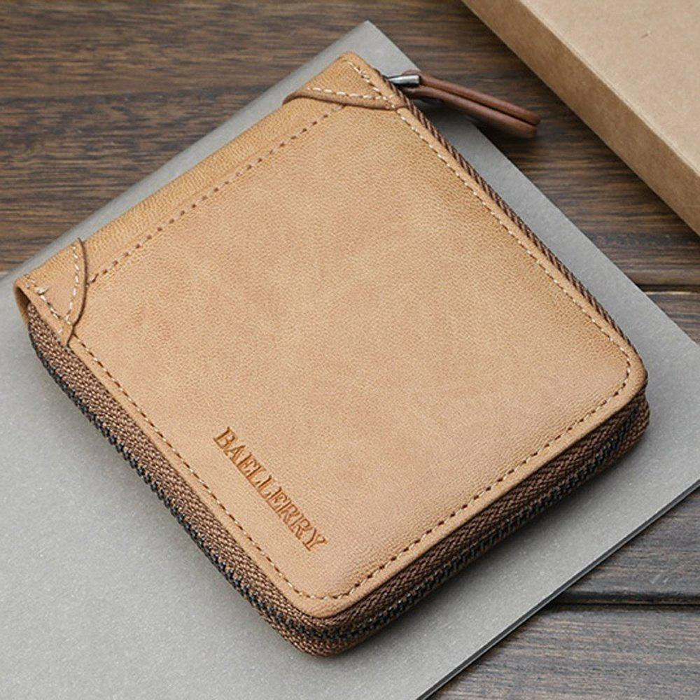 Short Men  'S Cross Money Wallet Portefeuille Porte-monnaie