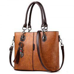 Atmospheric Women'S PU Leather Bag Inclined Shoulder Handbag Large Bag Women -