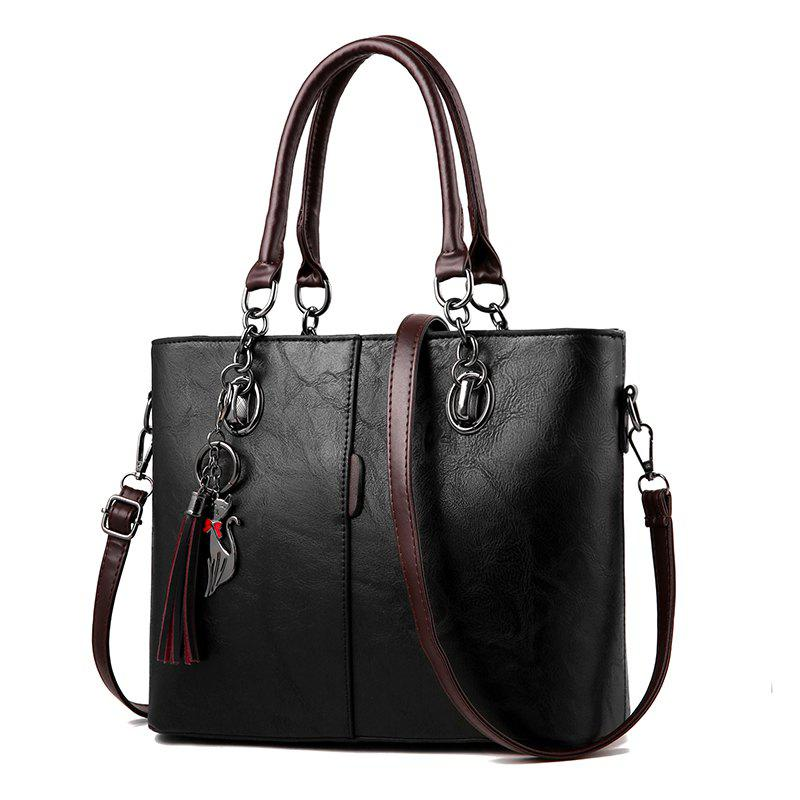 Best Atmospheric Women'S PU Leather Bag Inclined Shoulder Handbag Large Bag Women