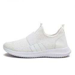 Men'S Shoes Breathable Flying Woven Mesh Shoes Tank Bottom Large Size Tide Shoes -