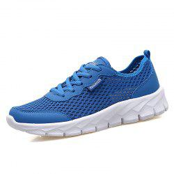Women'S Breathable Mesh Hollow Flat Hole Shoes Large Size -