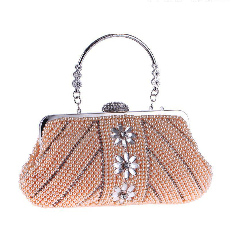 Sale The New Handbag Handle Pearl Bag Fashion Will Set Auger Dinner Packages