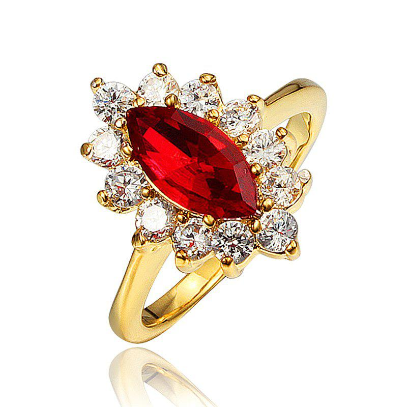 2019 18k Gold Plated Ring For Women Party And Wedding Fashion Design