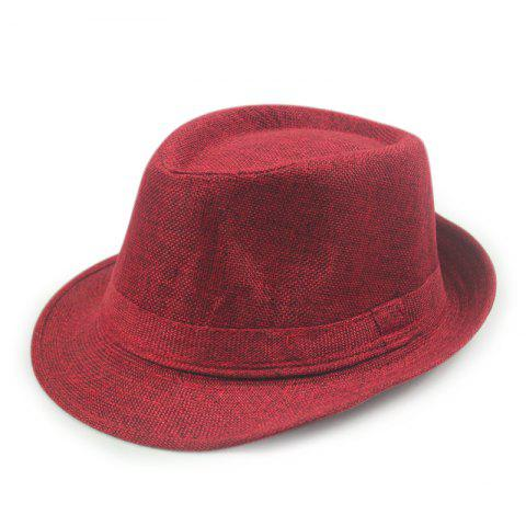 91ae8cd5cac Spring Summer England Men S Linen Hat Jazz Hat Female Sun Hat Sunscreen  Beach