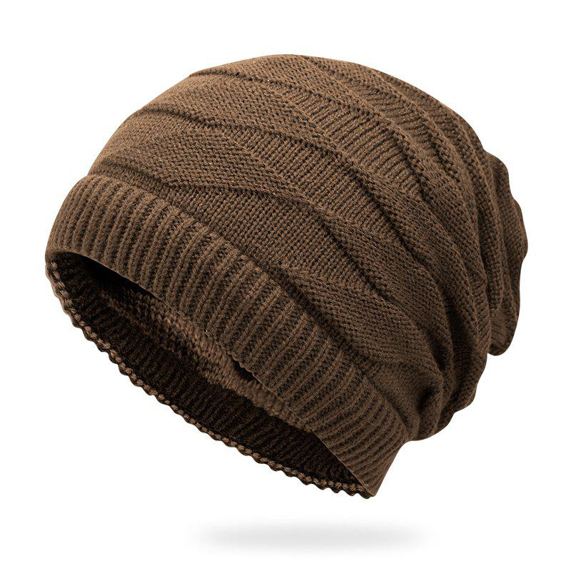 Hot Double-sided Warm Headgear + Size Code for 56-60cm Head Circumference