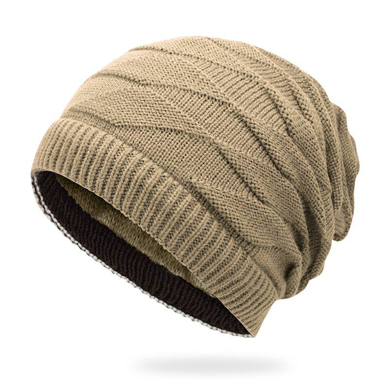 Fashion Double-sided Warm Headgear + Size Code for 56-60cm Head Circumference