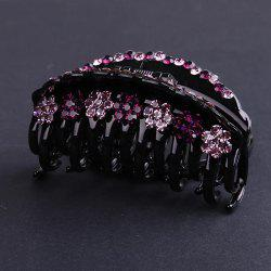 Large Diamond Hair Decoration Personality Baitao Headdress Grab Hair Clip -