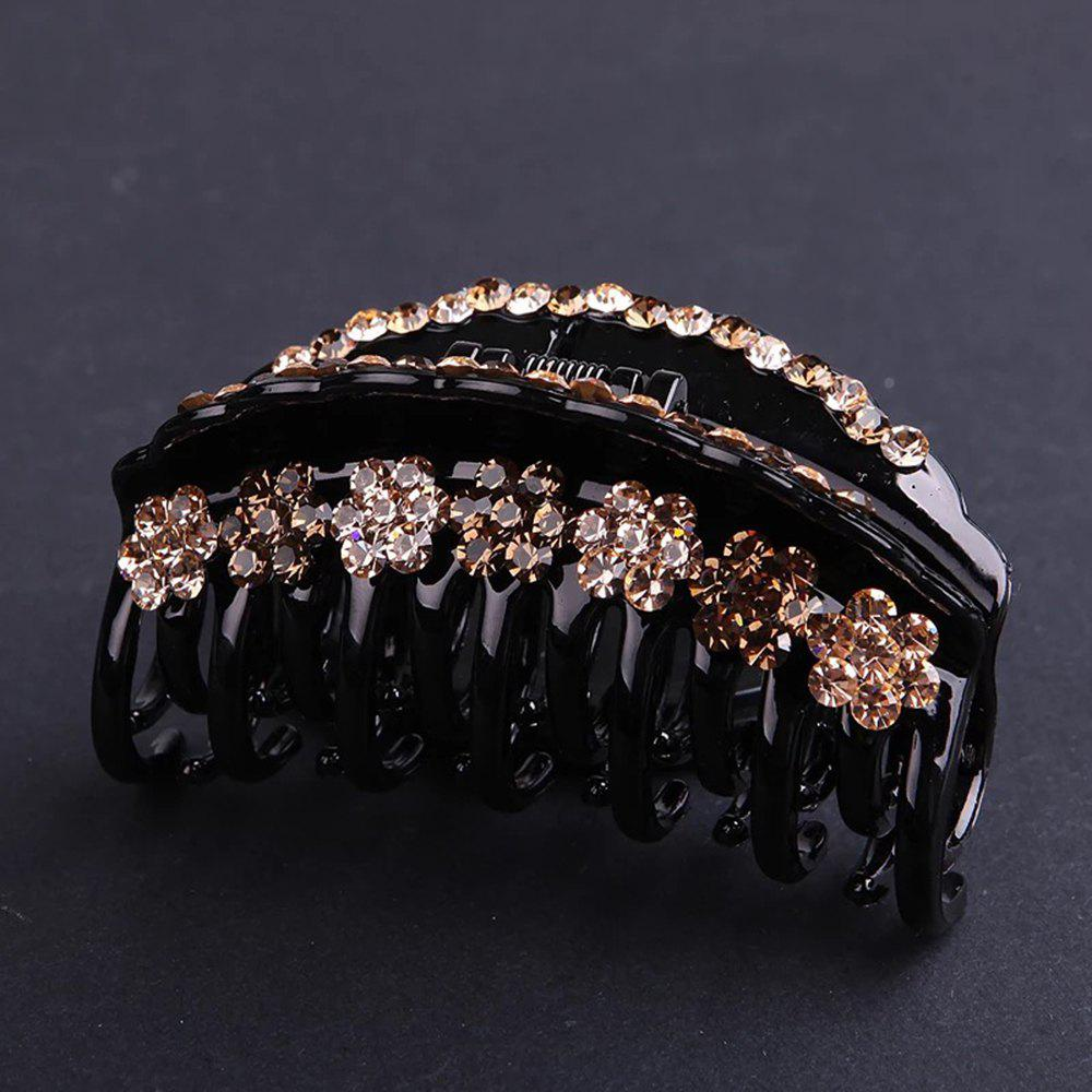 Chic Large Diamond Hair Decoration Personality Baitao Headdress Grab Hair Clip