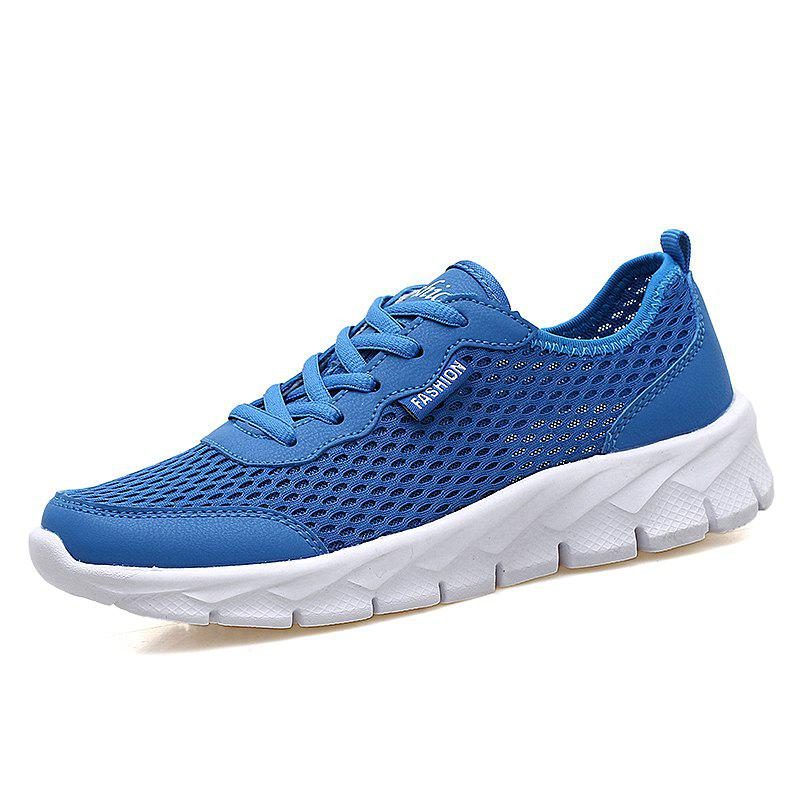 Chic Men'S Breathable Mesh Openwork Flat Hole Shoes