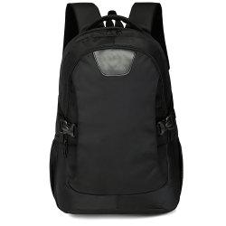 Men'S Cool Black Backpack Travel High School Student Bag -