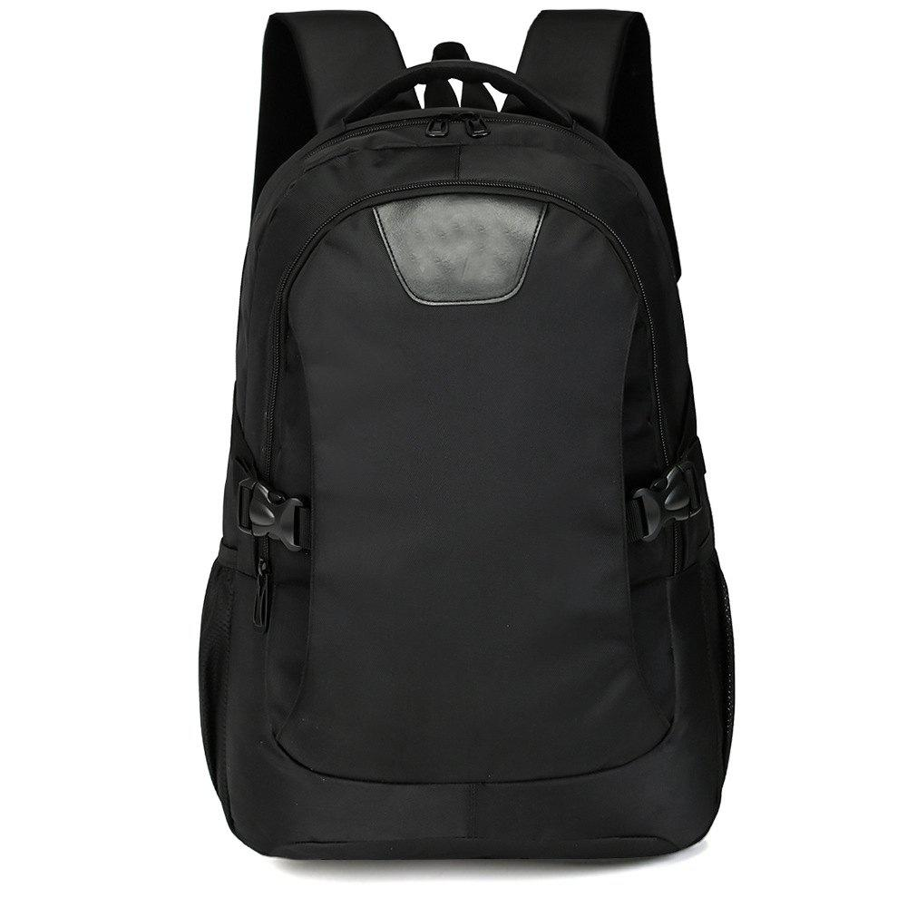 Fancy Men'S Cool Black Backpack Travel High School Student Bag