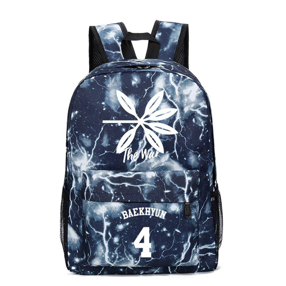 Trendy 2019 Print Star Schoolbag for Students Stylish Schoolbag Style Backpack