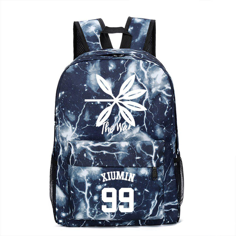 Unique 2019 Print Star Schoolbag for Students Stylish Schoolbag Style Backpack