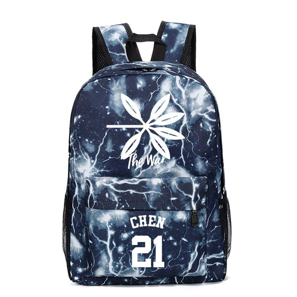 Shop 2019 Print Star Schoolbag for Students Stylish Schoolbag Style Backpack
