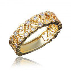 Fashion Rings For Women Party Elegant Bridal Jewelry Wedding Party Ring -