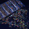 1 Pack Camouflage Color Shell Rhinestones Irregular Sequins for Nail Decors -