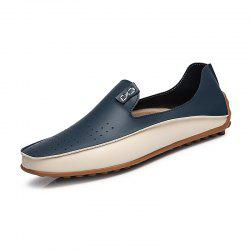 Men'S Shoes Breathable Flat Bottom Light Foot Peas Shoes Large Size Small Code -