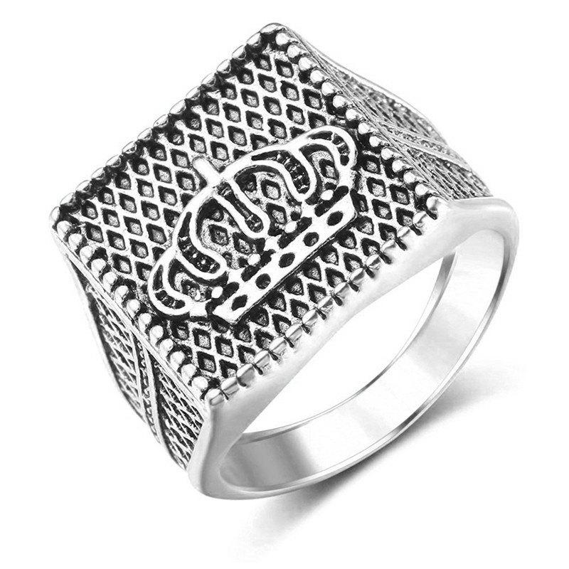 Outfit Golden Gilded Ring for Fashion Men