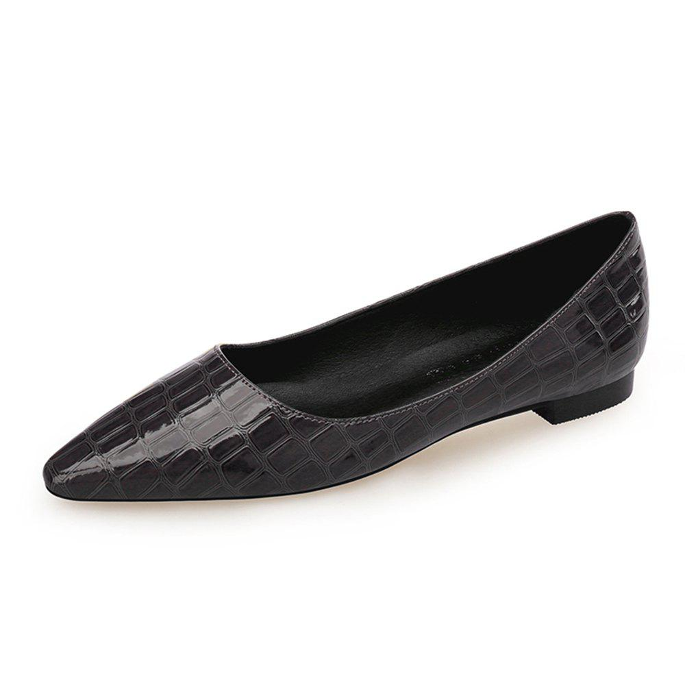 Shop European Style Pointed Shallow Mouth Flat Heel Women'S Shoes