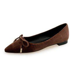 Chaussure plate pointue -