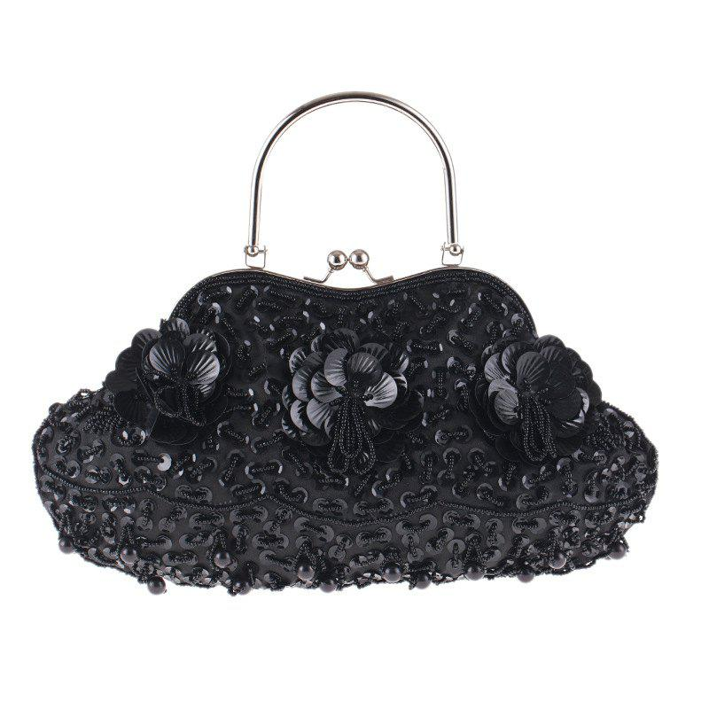 Outfits Ladies Fashion Trend in Traditional Manual Dinner Package Delicate Beaded Bag
