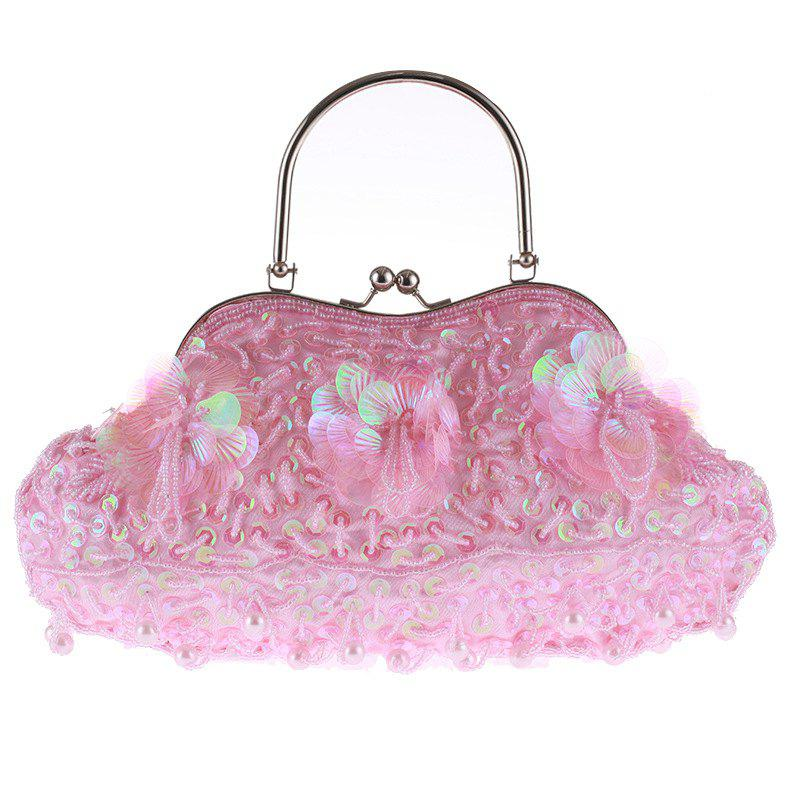 Shop Ladies Fashion Trend in Traditional Manual Dinner Package Delicate Beaded Bag