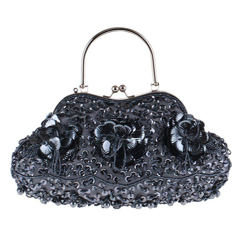 Buy Ladies Fashion Trend in Traditional Manual Dinner Package Delicate Beaded Bag