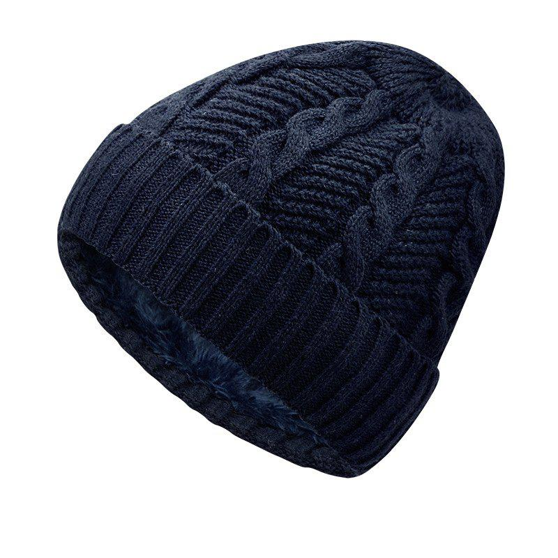 Hot Warm Cap and Plush Wool Cap + Size Code for 56-60CM Head Circumference
