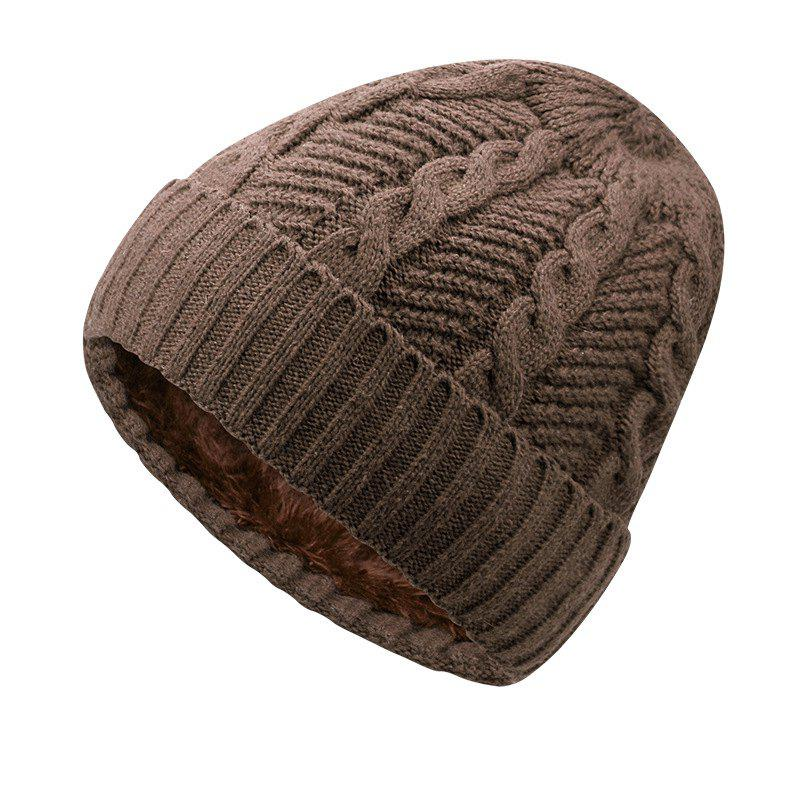 Latest Warm Cap and Plush Wool Cap + Size Code for 56-60CM Head Circumference