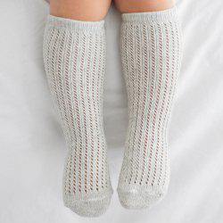 1 Pair of Baby Hollow Mesh Cotton Tube Socks -